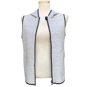 Lululemon Gray Insculpt Reversible Vest